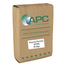 Nutrición porcina Plasma porcino APC
